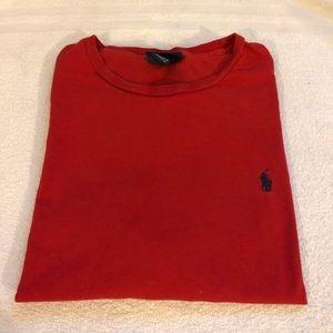 Polo Ralph Lauren Solid Red T-Shirt size XL